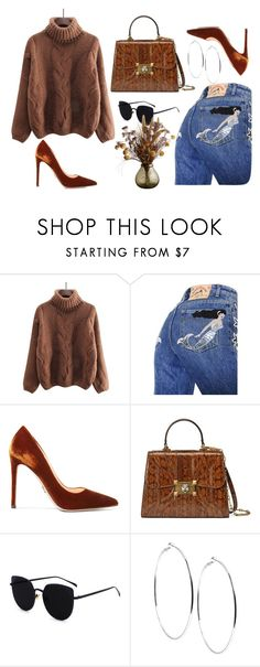 """""""Untitled #428"""" by mihaelamarula ❤ liked on Polyvore featuring Marc Jacobs, Prada, Gucci and GUESS"""