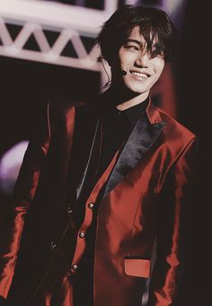 EXO   EXO-K   Kim Jong In ❤️ (KAI)   oh that smile