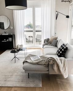 Personalize your home decoration with pretty digital printables. Home Living Room, Apartment Living, Living Room Designs, Living Room Decor, Sofa Design, Interior Design, Small Apartment Decorating, Contemporary Home Decor, House Rooms