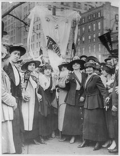 Antique photo: Labor Day 1916, Garment Workers NYC