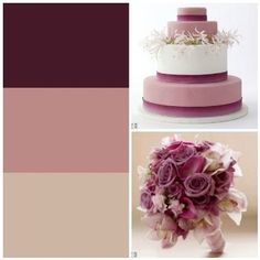 Beautiful fall wedding color.  #wedding #brides #mauve #nude #wine