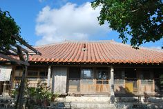 Okinawa(Ryukyu) Island Old House.