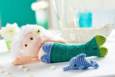 Ravelry: Pearl the Mermaid pattern by Amanda Berry