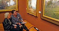 Alzheimer's art therapy tours at National Gallery of Australia boost dementia sufferers' wellbeing