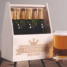Personalizowane nosidło na piwo BEER TESTER idealny na urodziny