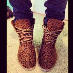 Cheetah Print Tims- sooo cute!!
