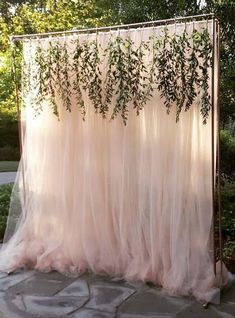 46 Cozy Backyard Wedding Decor Ideas For Summer Wedding backdrop Wedding Ceremony Decorations, Wedding Table, Wedding Backyard, Wedding Themes, Wedding Dresses, Backyard Bridal Showers, Wedding Aisles, Simple Outdoor Wedding Decorations, Bridal Gowns