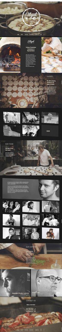 amazing restaurant website #webdesing #inspiration