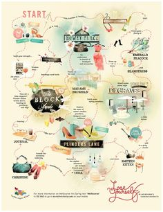 A guide to melbourne: :D Will need this very soon ;)