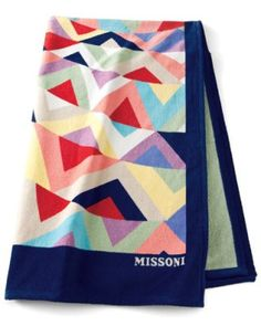 missoni beach towel