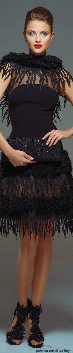 "Blanka Matragi ""Return of the Phoenix"", F/W 2015-2016 - Couture"