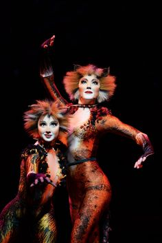 Demeter and Bombalurina- Cats the Musical - On Tour
