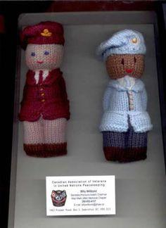 Crochet -  Pattern to make African Comfort (Duduza) Dolls.