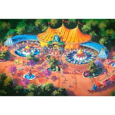 Disney World-Storybook Circus Concept Art