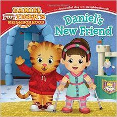 Daniel's New Friend. Books about spina bifida for children.