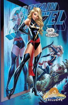 J Scott Campbell, Comic Book Artists, Comic Books, Ms Marvel Captain Marvel, Female Characters, Fictional Characters, Marvel Girls, Comic Character, Comic Art