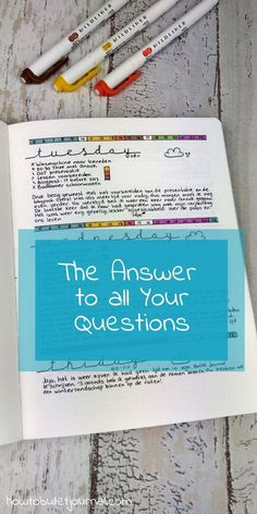 I get a lot of questions from people around the world! It's great to see that people are curious about Bullet Journaling. Some questions are asked on a regular base and that inspired me to write this post where I try to answer the most frequently asked questions about my Bullet Journal.