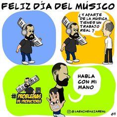 Via Instagram LAEMINENCIAreal #FelizDiaDelMusico Si eres de los que a pesar de  que casi nadie crée en ti y te tilda de vago por hacer de la Música un estilo tu vida  y sigues dandole pa' lante. Eres de los mios sea Rock o Reggaeton Merengue Cumbia Electrónica o Salsa. Un grammy no te hace mejor músico solo Te hace más caro!... Sígue adelante  #DiaDelMusico #LaEminencia #Musica #Musicos #fb #tw