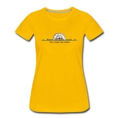 Dieses Schaf ist am Ende. Hol dir dises entzückende Design auf einem Shirt, Tasse oder Tasche. Mehr Farben und Produkte im Shop. Mens Tops, Design, Shopping, Women, Fashion, Classy Men, Cinch Bag, Women's T Shirts, Products