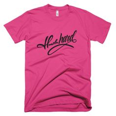 Short sleeve men's t-shirt - WHG Hustle Hard