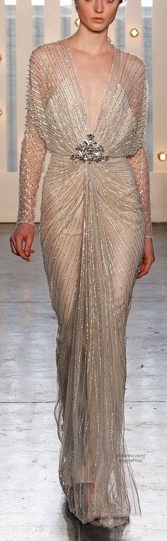 "Jenny Packham ~ Fall 2014 RTW ❁❁❁Thanks, Pinterest Pinners, for stopping by, viewing, re-pinning, & following my boards. Have a beautiful day! ❁❁❁ and ""Feel free to share on Pinterest""✮✮"" #fashion #fashionupdates #women"