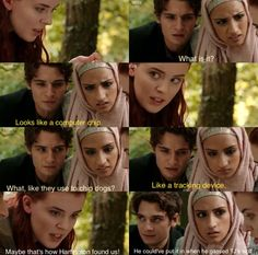 Jana, Matei, & Selina find the tracking device that Hartington put in TJ   Wolfblood Season 5 Episode 3