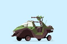 Greatest Rides pt.2 - Video Games Edition on Behance