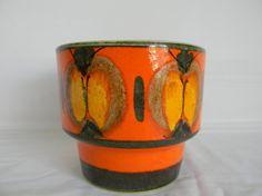 Vintage Mid Century Modern Pottery Planter by AustinMetroRetro, $39.00