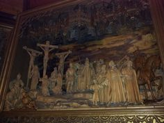 Another view of the Crucifixion in Caux