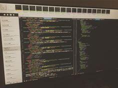 Code! Code! Code!  #web #website #webdesign #webdesigner #html5 #html #scss #javascript #jquery #webdevelopment #webdeveloper #webdev #design #designer #developer #development #coda #css #coding #markup #mac #macbook #php #rain #amaoto #wordpress