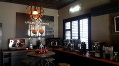 Urban Grind are coffee roasters in Parkhurst, Johannesburg Retail Space, Espresso Machine, Kitchen Appliances, Urban, Cake, Espresso Coffee Machine, Diy Kitchen Appliances, Home Appliances, Kuchen