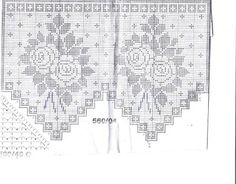 Cantinho da Jana: Gráficos de cortinas de crochê