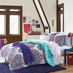 121 awesome college bedding images college bedding college dorm rh pinterest com
