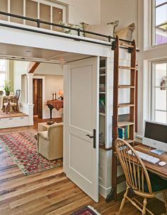 New Avenue : julie.d.haynes's Design Book : Bedroom Oh, how cool is this nook!? Forget the kids, I would love it.