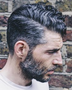 Haircut men curly waves curls 46 Ideas for 2019 Haircuts For Men, Mens Grey Hairstyles, Older Mens Long Hairstyles, Side Part Hairstyles, Asian Men Hairstyle, Men's Haircuts, Men's Hairstyle, Crazy Hairstyles, Haircut Men