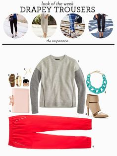 look of the week | J.crew Turner pants