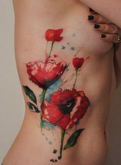 Poppies Tattoo - 60 Beautiful Poppy Tattoos | Art and Design