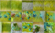 Nuno Fabric Felting