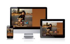 Web para El Caserío // Website for El Caserío