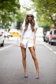 All white on @ariellenachmani