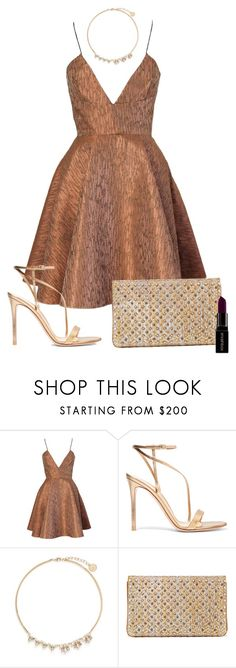 """Untitled #163"" by simplynoemi ❤ liked on Polyvore featuring Joana Almagro, Gianvito Rossi, Anton Heunis, Christian Louboutin, Smashbox, Summer, Fall, formal, christianlouboutin and 2016"
