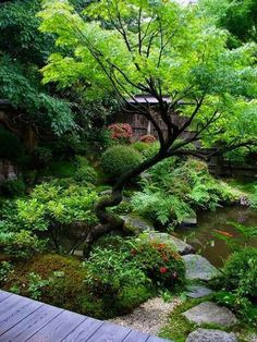 Peacefully Japanese Zen Gardens Landscape for Your Inspirations #japanesegardendesign #JapaneseGardenTheme #shadeGarden #JapaneseGardenDesignboulders