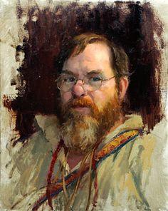 scott powers artist | Scott powers,scott tallman powers, the trapper,portrait,oils-Ralph ...