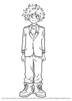 2 Top My Hero Academia Printable Coloring Pages
