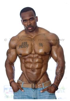 great torso, chest tat and those groin muscles ... unbelievable