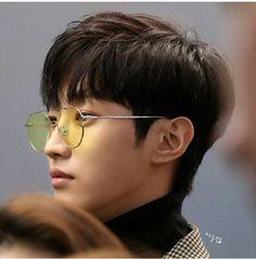 B1A4_ Jinyoung _airport fashion _ k wave in Hong Kong_