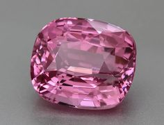 Bright Pink Spinel 12 carats from Sri Lanka