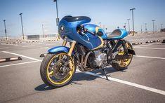Download wallpapers Suzuki GSX 1200 Inazuma, tuning, superbikes, parking, Suzuki