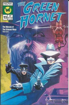 The Green Hornet Odyssey of Crimson Wasp comic issue 13
