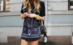 Not the shoes, bracelet or sunglasses but everything else! - Total Street Style Looks And Fashion Outfit Ideas Boho Fashion, Womens Fashion, Fashion Design, Fashion Trends, Street Fashion, Cheap Fashion, Fashion Styles, Daily Fashion, Fashion Photo
